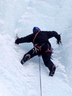 Eisklettern Bergführer Kletterführer Zermatt