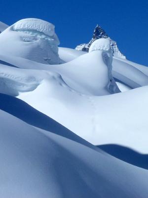Gletscherboarding-Bergführer Snowboardlehrer Zermatt