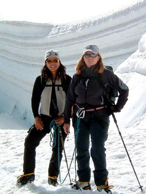 Gletschertrekking-Wanderführer Bergführer Zermatt