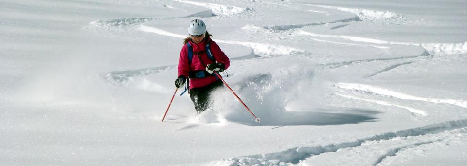 Variantenfahren-Freeride-Bergführer Skiführer Zermatt
