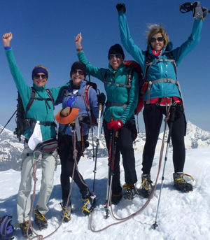 My first four thousand meter peak Mountain Guide Zermatt