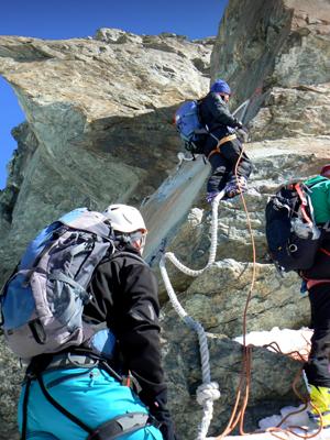 Castor-Pollux Mountain Guide Zermatt