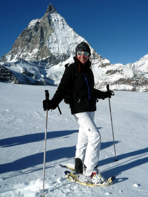 Snowshoe Walking Hiking-Mountain Guide Zermatt